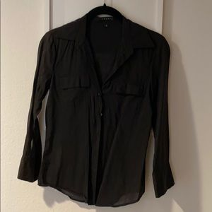 Theory blouse black size P